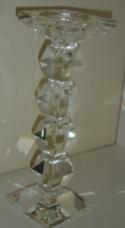 Castiçal Cristal Copas - 37cm