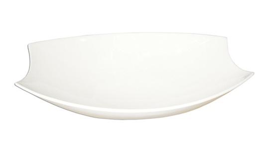 Saladeira Retangular 31cm Branca -  Canoe