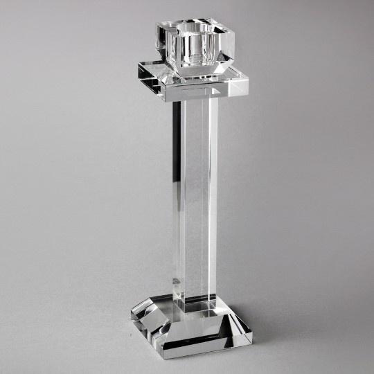 Castiçal de Cristal Ana 21,5 cm