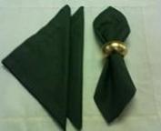 Guardanapo Tecido Verde - 6 pçs