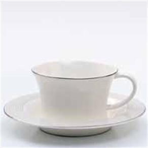 Xícaras de Chá Radius Platinium - 6pçs