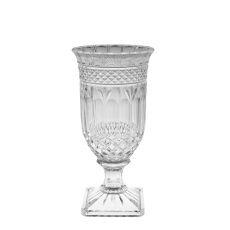 Vaso de Vidro c/ Pé -  32,5cm