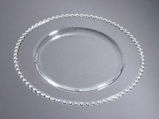 Sousplat Clear Points - 31,5cm