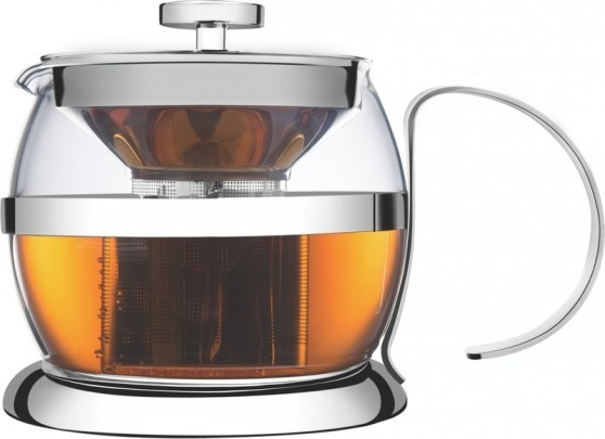 Bule p/Chá em Vidro e Inox - Tramontina