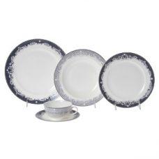 Jogo de Jantar Victorian Lace Blue - 30pçs