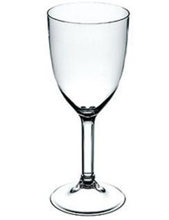 Taça p/ Vinho 400ml Acrílico