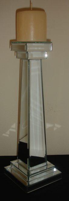Castiçal Espelhado - 40 cm