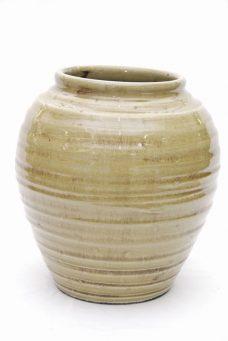 Cachepot Cerâmica Verde - 26 cm
