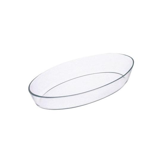 Assadeira Oval Vidro 39 cm