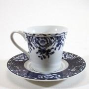 Xícara de Chá Tudor Rose - 6 pçs