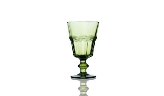 Taça de Vidro - 6pcs - Verde