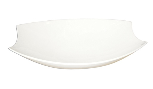 Saladeira Retangular 36cm Branca -  Canoe