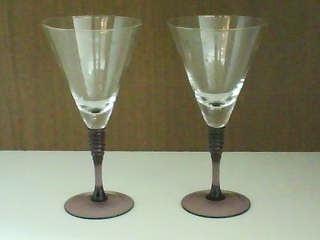 Taça Água Pé Lilás - 6 pçs